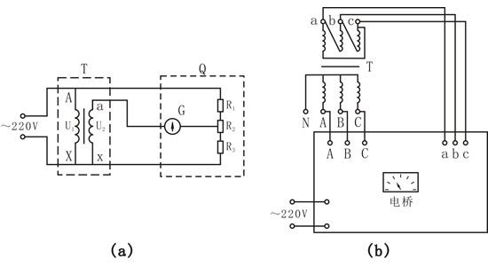 变压器的变比试验是验证变压器能否达到规定的电压变换效果,变比是否符合变压器技术或铭牌所规定的数值的一项试验。其目的是检查各绕组的匝数、引线装配、分接开关指示位置是否符合要求;提供变压器能否与其他变压器并列运行的依据。变比相差1%的中小型变压器并列运行,会在变压器绕组内产生10%额定电流的循环电流,使变压器损耗大大增加,对变压器运行不利。 《规程》中规定了变压绕组所有分接头变比试验的标准:(1)各相应分接头的变比与名牌值相比,不应有显著差别,且应符合规律。(2)电压35kV以下,变比小于3的变压器,其变比允